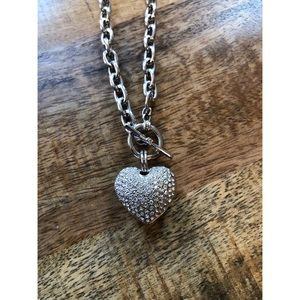 Jewelry - Crystal Heart Necklace